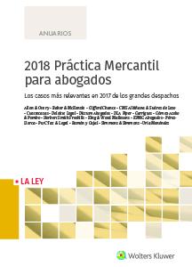 2018 Práctica Mercantil para abogados