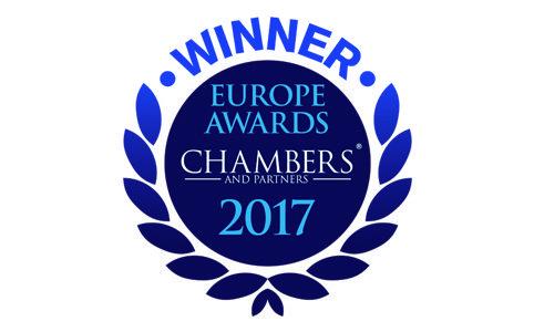 2017. Mejor Firma en España, Chambers & Partners