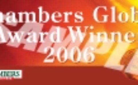 2006. Mejor Firma en España, Chambers & Partners